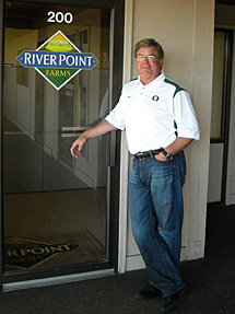 Bob Hale, Jr., CEO of River Point Farms