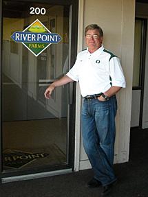 Bob Hale, Jr., CEO of River Point Farms
