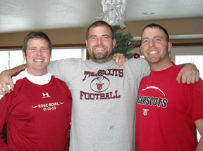 The Hansell brothers—T.J., Luke and Kinzie.